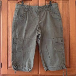 Eddie Bauer Long Cargo Shorts